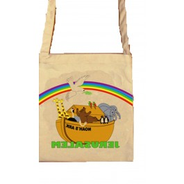 Jerusalem Colorful Noah's Ark Bag