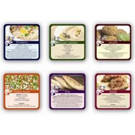 Israeli Cuisine Recipes-Six Pieces