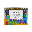 3D Colorful photo frame - Colorful Jerusalem