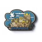 3D magnet - Jerusalem Cloud