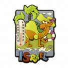 Israel Thermometer Camel Magnet