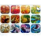 The Twelve Tribes Unframed Artwork