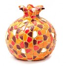 Pomegranate Mosaic - Red Rosh Hashanah!