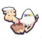 Israel Camel Key Chain - Falafel
