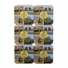 Israel Cork Coasters Set Six Pieces