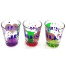 3 I love Jerusalem Shot Glasses